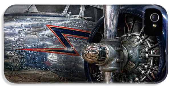 Plane - Hey Fly Boy  IPhone 5 Case by Mike Savad