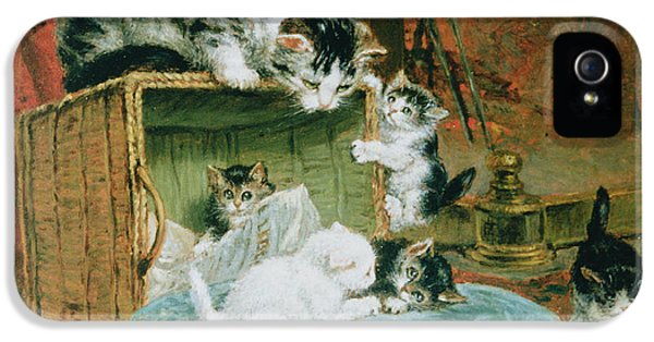 Playtime IPhone 5 Case by Henriette Ronner-Knip