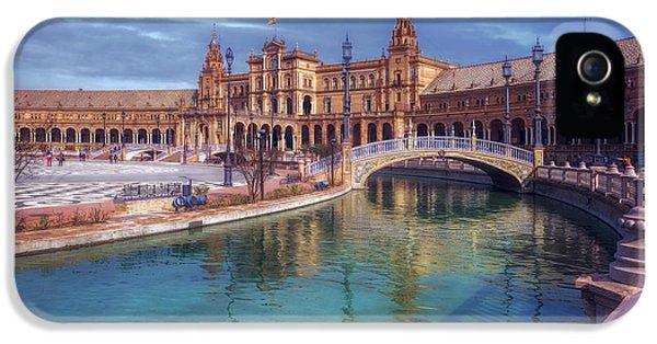 Plaza De Espana Seville II IPhone 5 Case