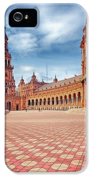 Plaza De Espana Seville IPhone 5 Case