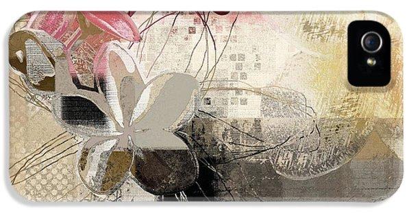 Plumeria Flower iPhone 5 Case - Plumeria - 064073079m3 by Variance Collections