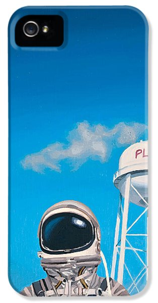 Science Fiction iPhone 5 Case - Pluto by Scott Listfield