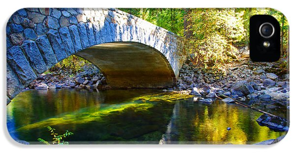 Pohono Bridge Yosemite National Park IPhone 5 Case by Scott McGuire