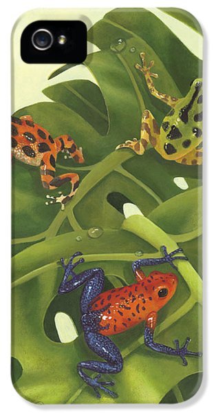 Frogs iPhone 5 Case - Poison Pals by Laura Regan