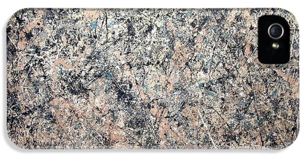 Washington D.c iPhone 5 Case - Pollock's Number 1 -- 1950 -- Lavender Mist by Cora Wandel