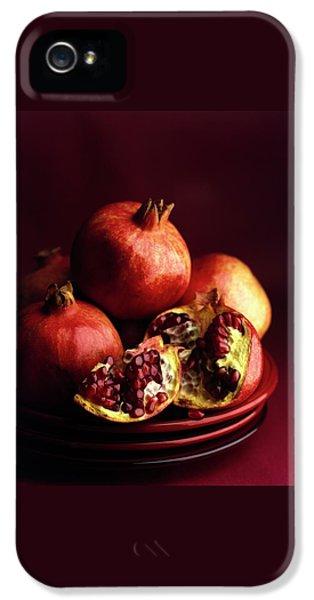 Pomegranates IPhone 5 Case by Romulo Yanes