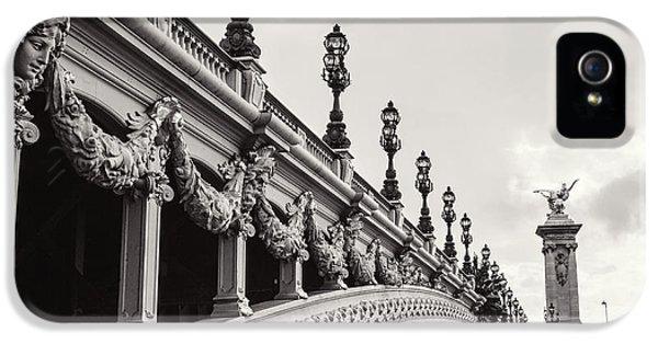 Paris iPhone 5 Case - Pont Alexandre IIi by Melanie Alexandra Price