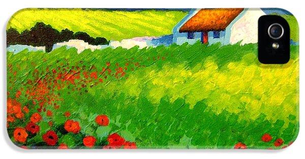 Poppy Field - Ireland IPhone 5 Case