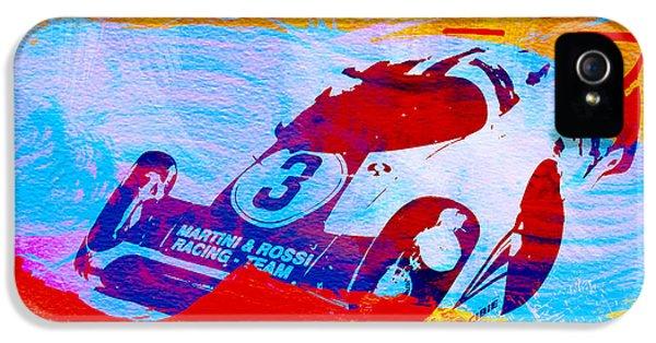 Porsche 917 Martini And Rossi IPhone 5 / 5s Case by Naxart Studio