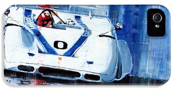 Porsche 917 Pa J.siffert Laguna Seca Canam 1969 IPhone 5 Case by Yuriy Shevchuk