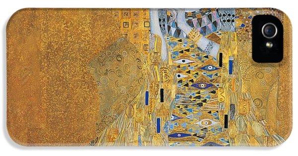 Portrait Of Adele Bloch-bauer I IPhone 5 Case by Gustav Klimt