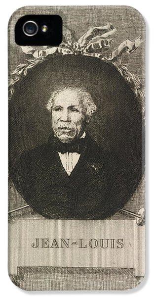 Portrait Of Jean-louis IPhone 5 Case