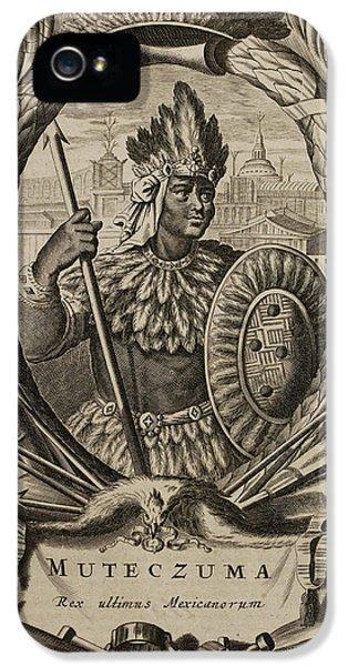 Portrait Of Montezuma II IPhone 5 Case