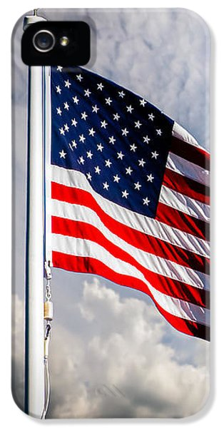 Portrait Of The United States Of America Flag IPhone 5 Case