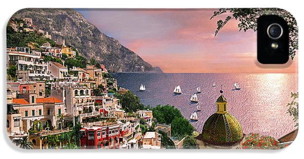 Positano IPhone 5 Case by Dominic Davison