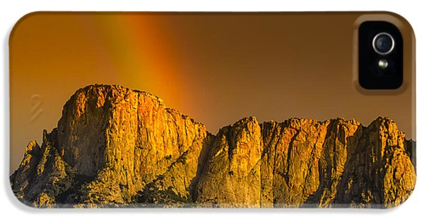 Pot Of Gold IPhone 5 Case by Mark Myhaver