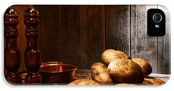 Potatoes IPhone 5 Case by Olivier Le Queinec