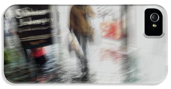 IPhone 5 Case featuring the photograph Pounding The Pavement by Alex Lapidus