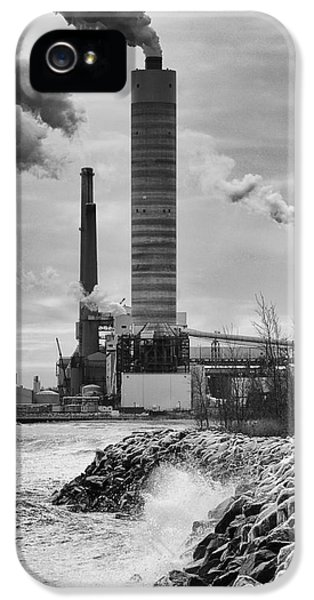 IPhone 5 Case featuring the photograph Power Station by Ricky L Jones
