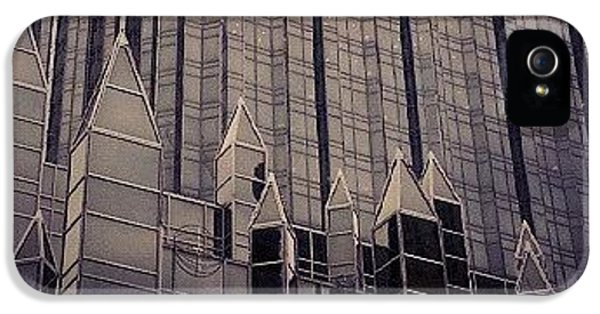 Downtown Castle IPhone 5 Case by Charlie Cliques