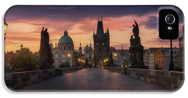 Castle iPhone 5 Case - Prague-ii by Juan Manuel Fernandez