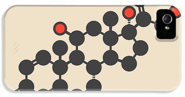 Prednisolone Corticosteroid Drug Molecule IPhone 5 Case by Molekuul