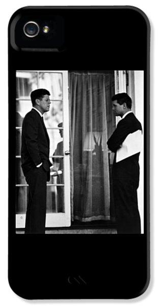 President John Kennedy And Robert Kennedy IPhone 5 Case