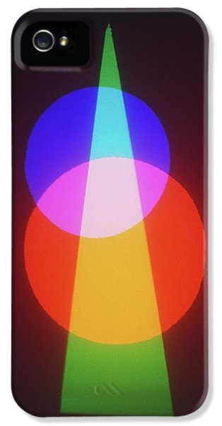 Projection Of Three Primary Colours IPhone 5 Case