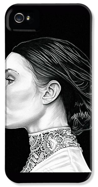 Prometheus - Noomi Rapace IPhone 5 Case by Fred Larucci