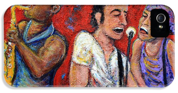 Prove It All Night Bruce Springsteen And The E Street Band IPhone 5 Case by Jason Gluskin