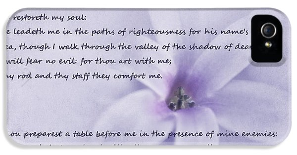 Psalm 23 IPhone 5 Case