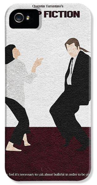 Pulp Fiction 2 IPhone 5 Case by Ayse Deniz