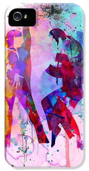 Pulp Watercolor IPhone 5 Case