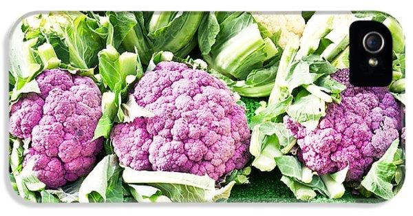 Purple Cauliflower IPhone 5 / 5s Case by Tom Gowanlock