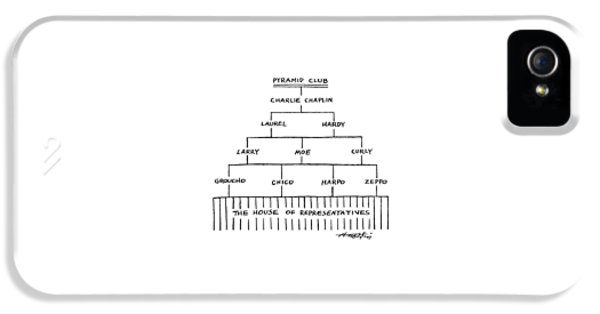 Pyramid Club IPhone 5 Case