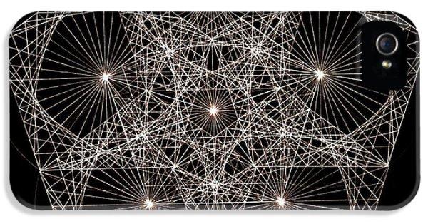 Quantum Star II IPhone 5 Case by Jason Padgett