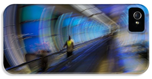 IPhone 5 Case featuring the photograph Quantum Tunneling by Alex Lapidus