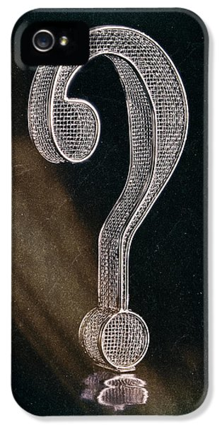 Question Mark IPhone 5 Case by Tom Mc Nemar