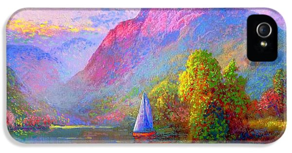 Sailing Into A Quiet Haven IPhone 5 Case