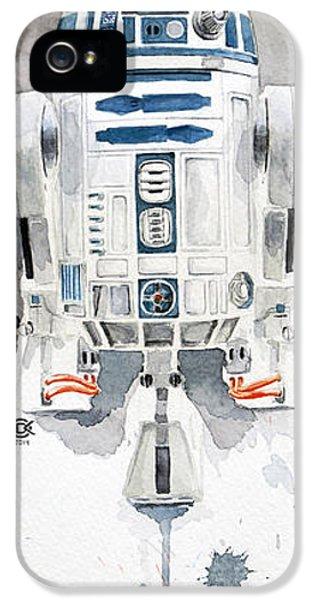 R2 IPhone 5 Case by David Kraig