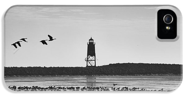 IPhone 5 Case featuring the photograph Racine Lakefront by Ricky L Jones