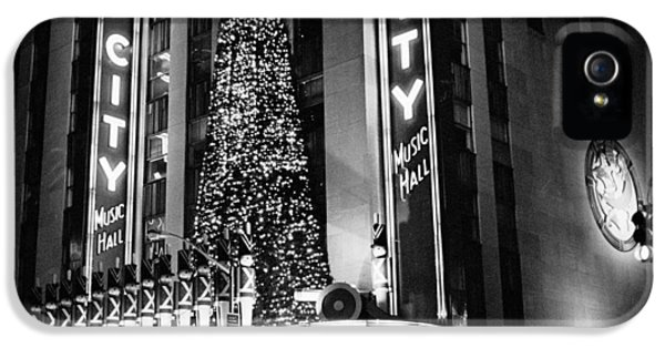 Radio City New York IPhone 5 Case by Dave Beckerman