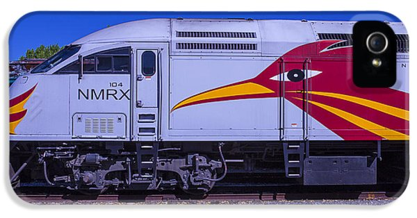 Roadrunner iPhone 5 Case - Rail Runner Train by Garry Gay