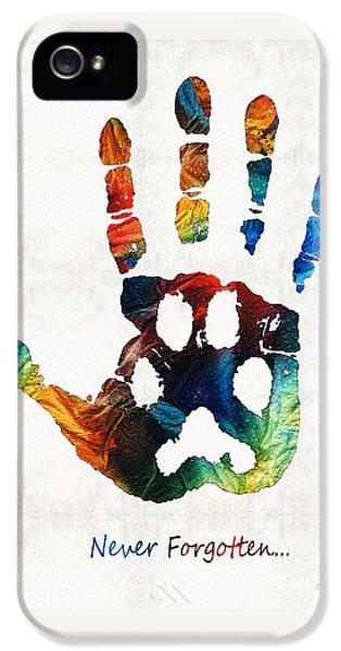 Rainbow Bridge Art - Never Forgotten - By Sharon Cummings IPhone 5 Case
