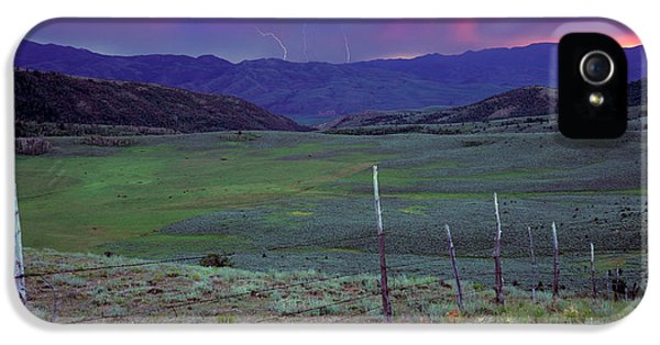 Ranch Land IPhone 5 Case by Leland D Howard