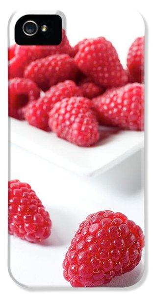 Raspberries IPhone 5 / 5s Case by Aberration Films Ltd