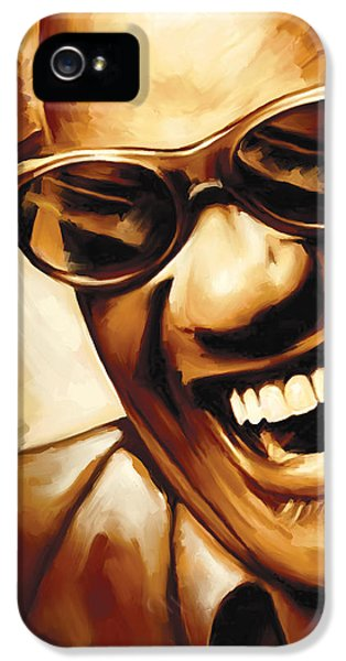 Ray Charles Artwork 1 IPhone 5 Case