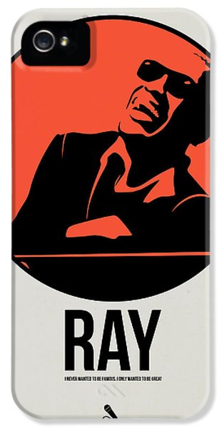 Ray Poster 1 IPhone 5 Case by Naxart Studio