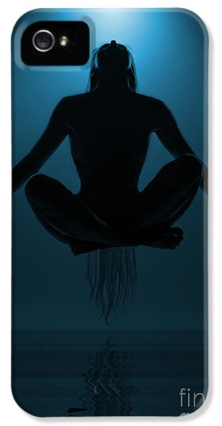 Magician iPhone 5 Case - Reaching Nirvana.. by Nina Stavlund