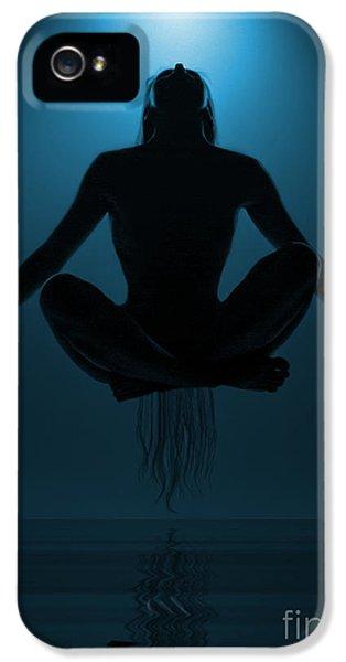 Magician iPhone 5 Case - Reaching Nirvana.. by Nina Stavlund